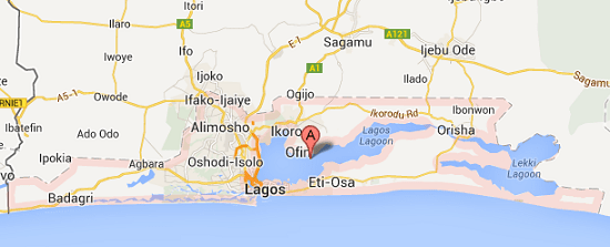 Map Of Lagos Island Local Government