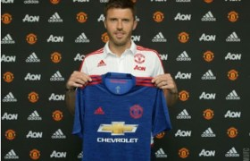 Carrick Signs One Year Contract With United