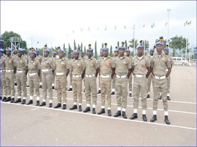 peace corps of nigeria ranks salary
