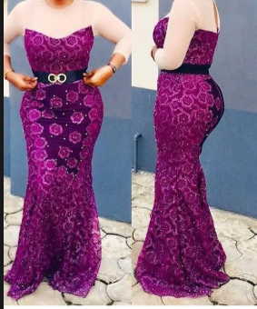 nigerian lace style for wedding 1