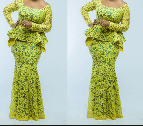 nigerian lace style for wedding 2
