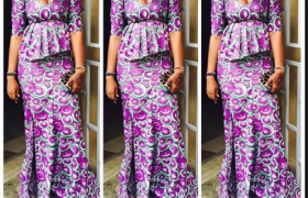 25 Ankara Skirt and Blouse Styles ([year])