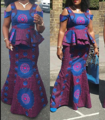 9d5c23d2b97580 Ankara skirt and blouse are perfect for various kinds of occasion. They are  one of the best fits for weddings and are lovely for other outings.