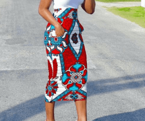 Ankara Pencil Skirts