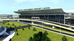 Model of the complete work of the international terminal in Lagos