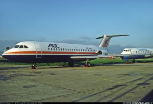 ADC Airlines BAC1-11 with registration number 5N-BAA