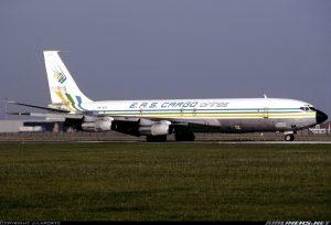Eas Airline Boeing 707-300 5N-ASY