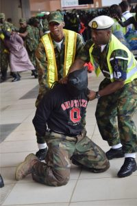 Simulation of hostage situation at the Murtala Muhammed Interrnational Airport