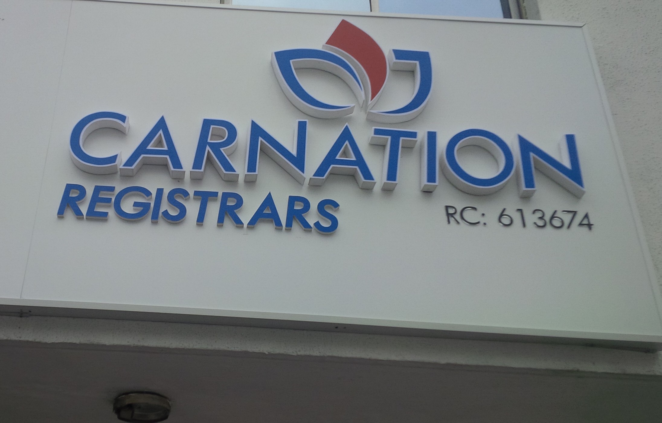 mainstreet bank registers re brands as carnation registrars for