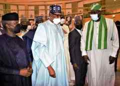 President Buhari commends  Runsewe on Treasures of Nigerian Culture Exhibition
