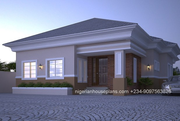 3 bedroom house designs in nigeria for Nigerian architectural home designs