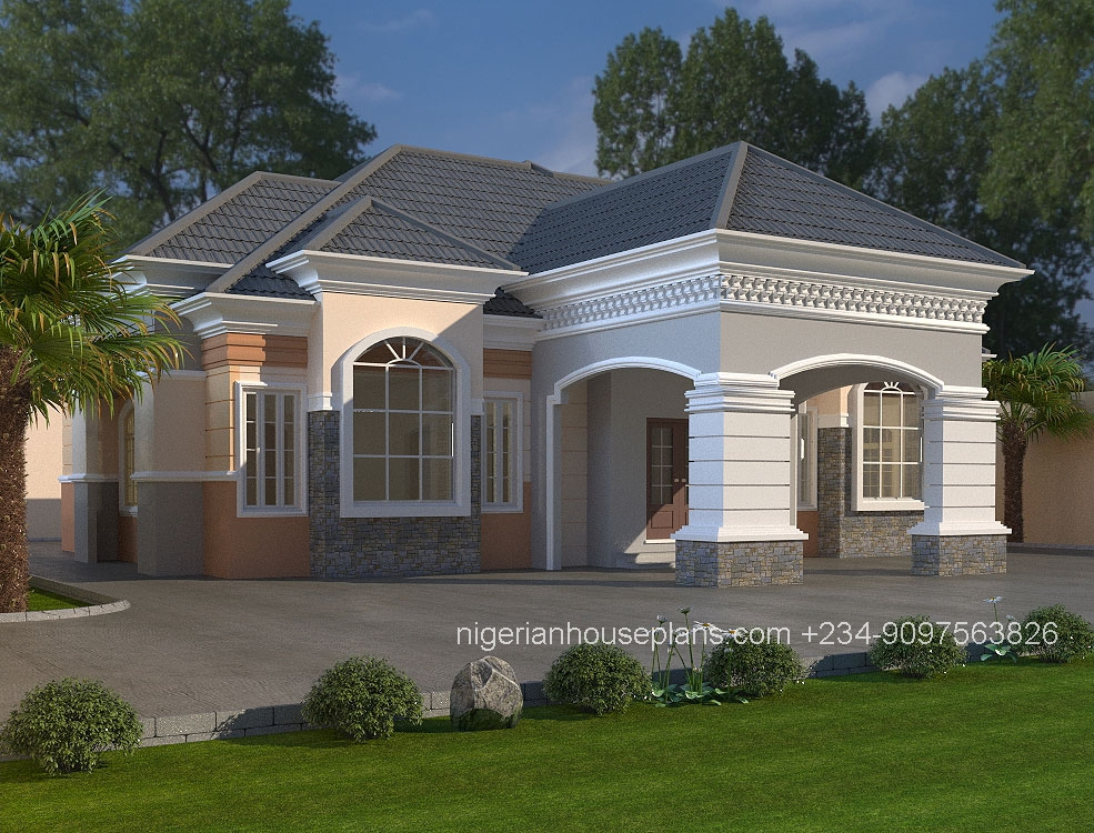 Modern house design nigeria for Home plans and designs