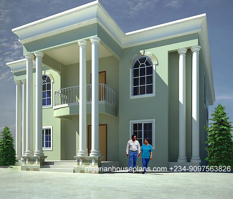 5 Bedroom Duplex Ref5026 NigerianHousePlans