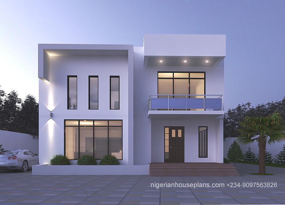 4 Bedroom Duplex (Ref 4039) - NigerianHousePlans