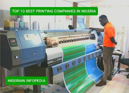 printing companies in Nigeria