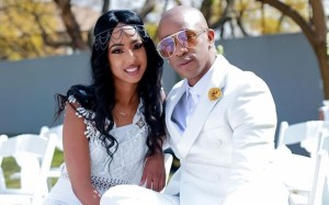 47-year-old Theo Kgosinkwe Ties the knot with his 27-year-old Model sweetheart