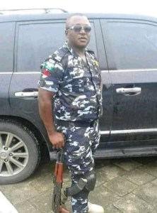 Yakubu was returning from patrol duty with two of his colleagues when they were accosted by a military officer in mufti uniform who accused them of driving against traffic