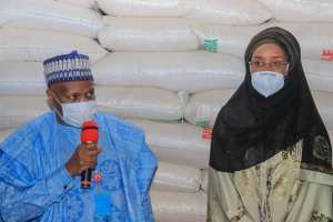 #COVID-19: #Inuwa Yahaya receives FG Relief Palliative, to mitigate effect of Virus, Flood