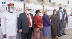 #COVID-19: U.S Govt. Hands over 200 Ventilators to Nigerian Govt.