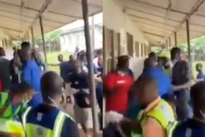 #Edodecides: Angry voters resists, attacks man trying to grab ballot box {watch video}