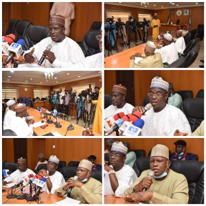 #Inuwa #Yahaya Presides over #State #Executive #Council Meeting