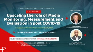 Advocating for #Nigerian Media Monitoring and #Measurement #Association (#NiMMA) -Queen Nwabueze