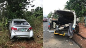 #Touching: 2 Dead, 5 Injured As Car Crashes In #Ogunstate