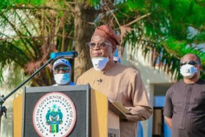 #Covid-19: We 've been strategically curbing the menace, setting our state on #socioeconomic recovery pedestal- #Oyetola