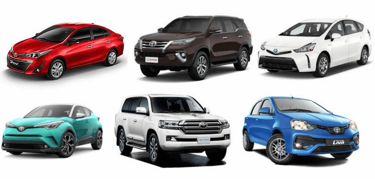 Toyota Nigeria Cars Price List January 2019