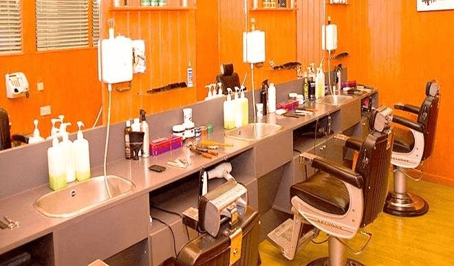barbing salon pictures