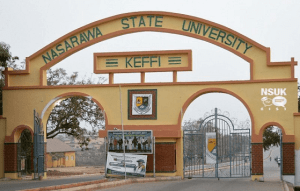 nasarawa state university school fees