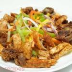 Chicken Suya Salad
