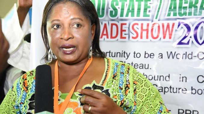 Hon. (Mrs.) Lynda Hennang Shekinah Barau, Plateau State Commissioner for Agriculture.