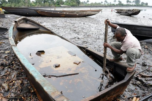 crude oil spill in nigeria