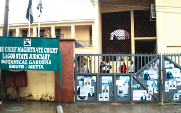 Tenant arraigned for impersonation