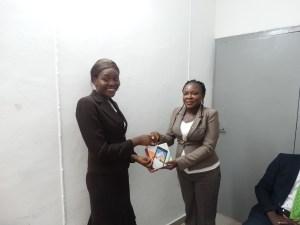 Mrs. Grace Olu-Majek & 3rd place wnner