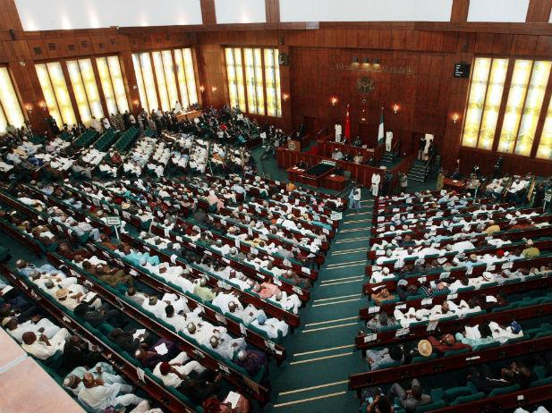 Seating arrangement at the National assembly