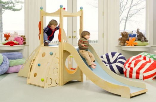 Kids love to play even at home. Give them that space