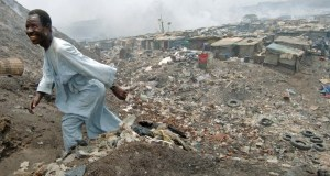 Nigerian 'Dustbin Estate' built on garbage dump