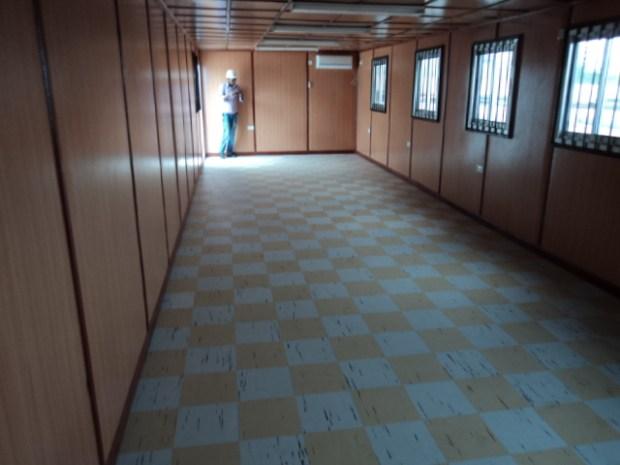 portacabin interior