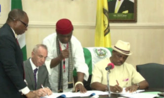 Obiano Signs Agreement With Irish Firm For Affordable Housing Units