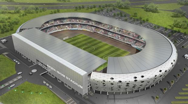Akwa Ibom International Stadium, Uyo. One of the laudable works of Godswill Akpabio