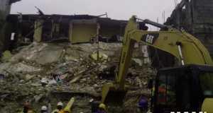3 Storey Building Collapses In Lagos Island