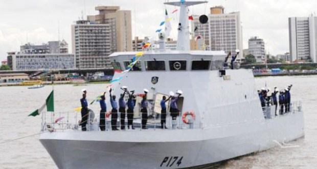 Nigerian Navy destroys 50 illegal refining camps