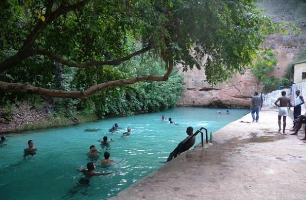 The Wikki-Springs in Yankari