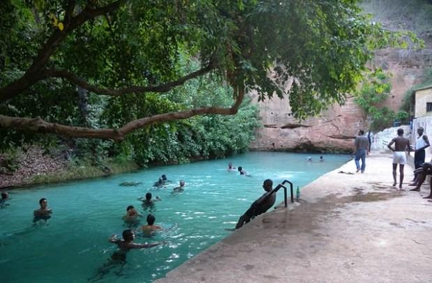 The Wikki-Springs in Yankari