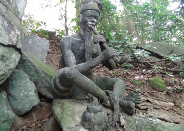 Igbo Olodumare rainforest in Ondo state