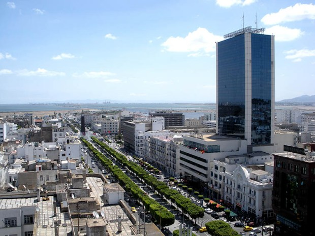 Tunis-City-Avenue-Habib-Bourguiba-Tunisia