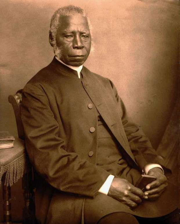 The first African Bishop of the Anglican Church