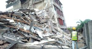 Another three-storey building collapse happened in Lagos